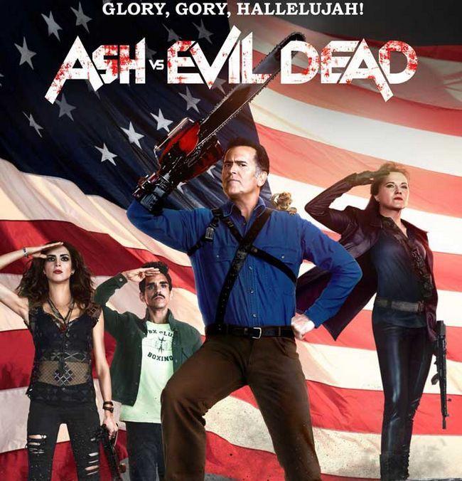Ash vs liberación mal muerto temporada 3 fecha- september 2017
