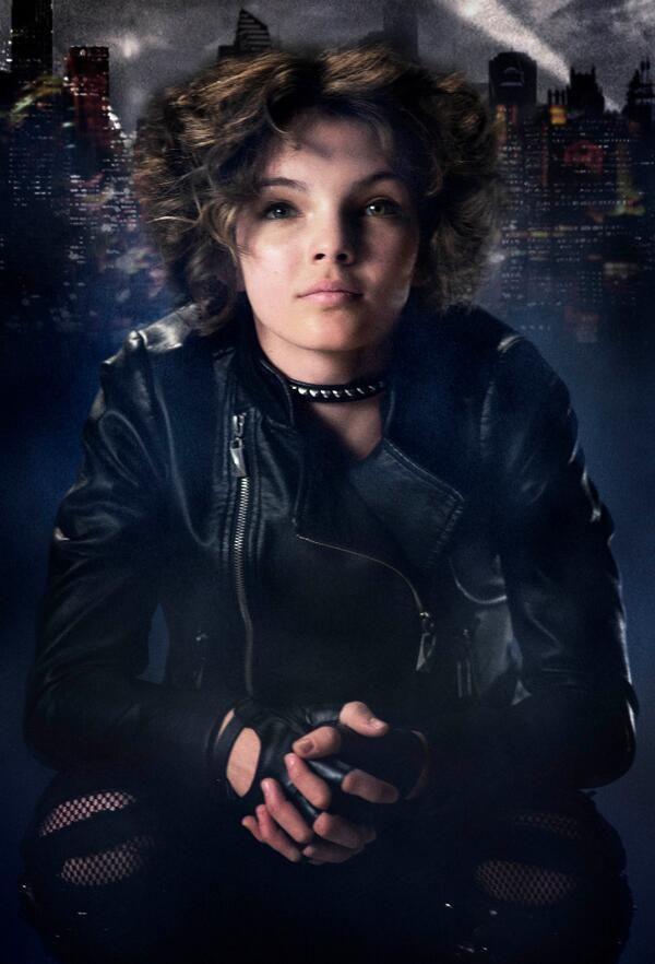 Gotham - programa de televisión configurar imágenes y primeras promociones para catwoman, det. Harvey bullock y alfred pennyworth
