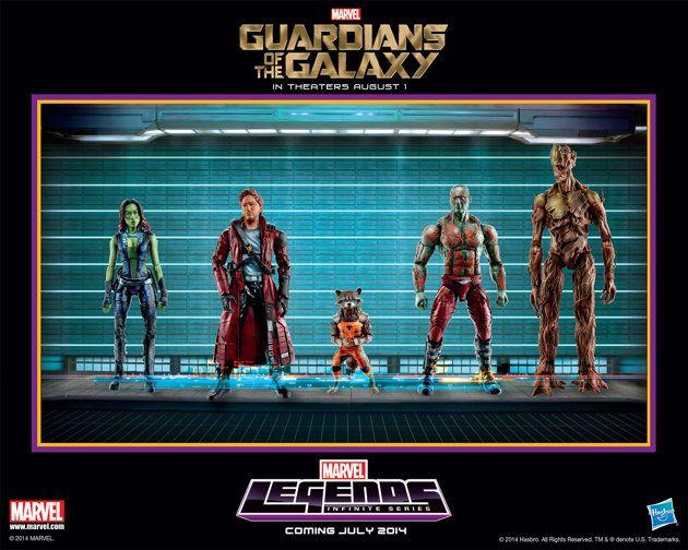 Guardianes de la galaxia - nuevas figuritas