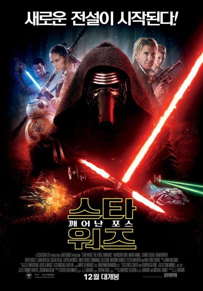 guerra de las galaxias despierta la fuerza de la marca del cartel remolque nuevo episodio 7 Kylo s Harrison Ford Rey Finn John Boyega Luke Skywalker margarita Ridley