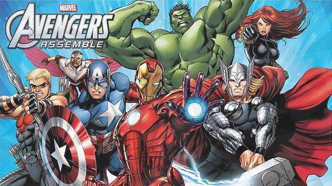 Vengadores de marvel reúnen temporada 3 de estreno el pasado 13 de, el año 2016