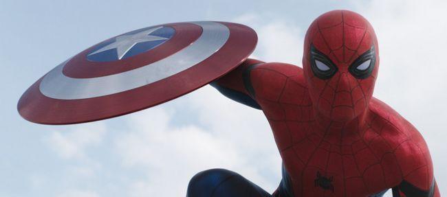 Spider-man introducido en capitán américa: remolque de la guerra civil