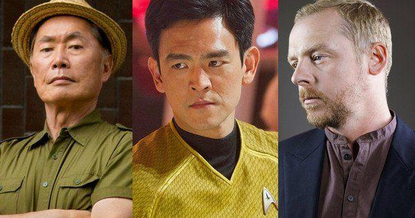 George Takei John Cho Gay Sulu Star Trek allá de Simon Pegg controversia LGBT homosexual reacción violenta